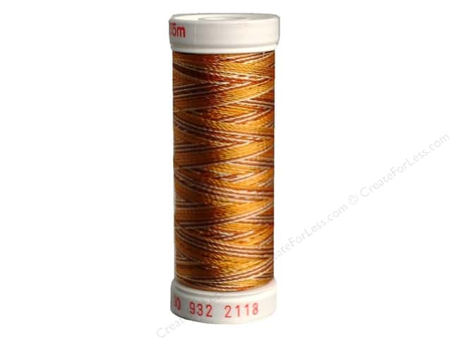 Sulky Rayon Thread 30 wt. 180 yd. #2118 Medium Browns