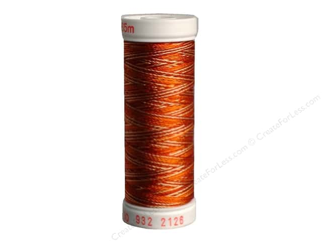 Sulky Rayon Thread 30 wt. 180 yd. #2126 Rust Peaches