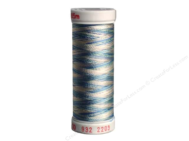 Sulky Rayon Thread 30 wt. 180 yd. #2203 Baby Pink/Mint/Blue