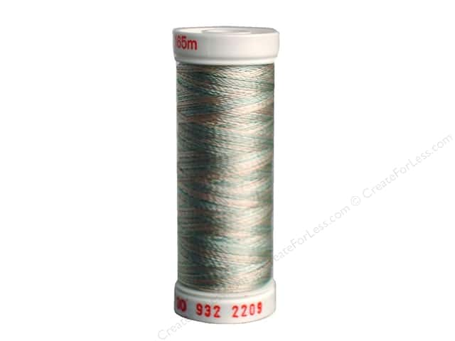 Sulky Rayon Thread 30 wt. 180 yd. #2209 Sea Foam/Coral/Ecru