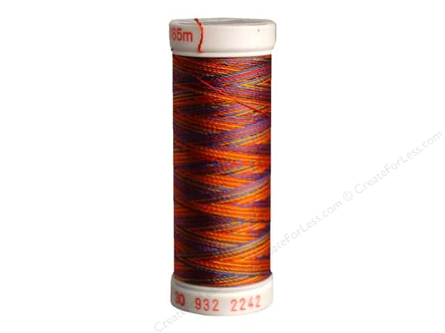 Sulky Rayon Thread 30 wt. 180 yd. #2242 Red/Gold/Blue