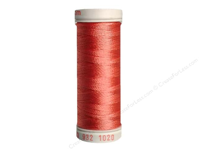 Sulky Rayon Thread 30 wt. 180 yd. #1020 Dark Peach