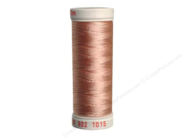 Sulky Rayon Thread 30 wt. 180 yd. #1015 Medium Peach