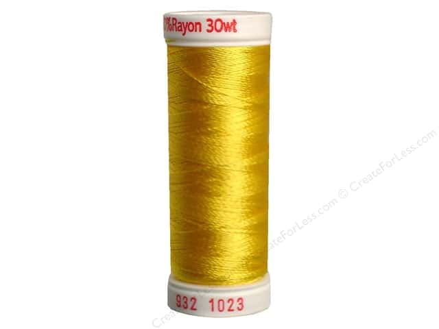 Sulky Rayon Thread 30 wt. 180 yd. #1023 Yellow