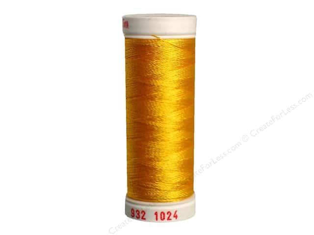 Sulky Rayon Thread 30 wt. 180 yd. #1024 Goldenrod