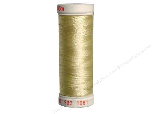Sulky Rayon Thread 30 wt. 180 yd. #1061 Pale Yellow