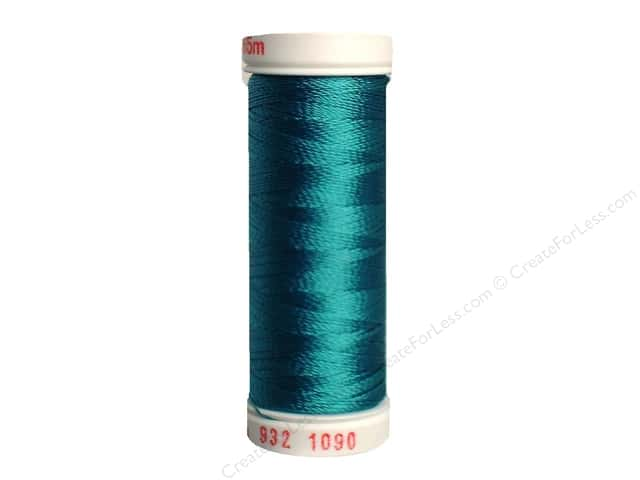 Sulky Rayon Thread 30 wt. 180 yd. #1090 Deep Peacock