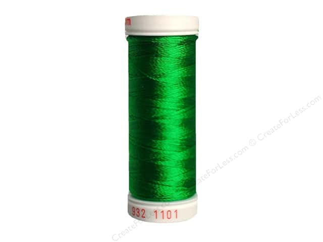 Sulky Rayon Thread 30 wt. 180 yd. #1101 True Green