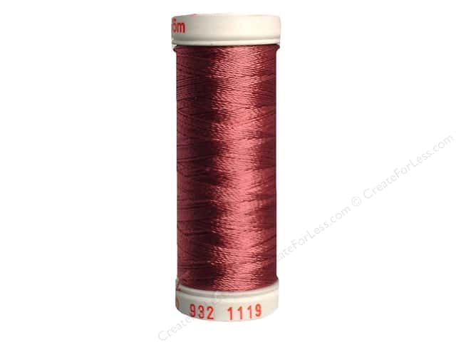 Sulky Rayon Thread 30 wt. 180 yd. #1119 Dark Mauve