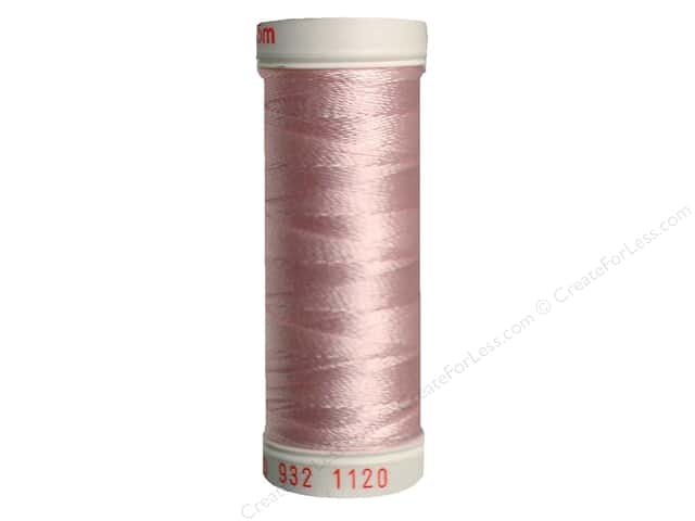Sulky Rayon Thread 30 wt. 180 yd. #1120 Pale Pink