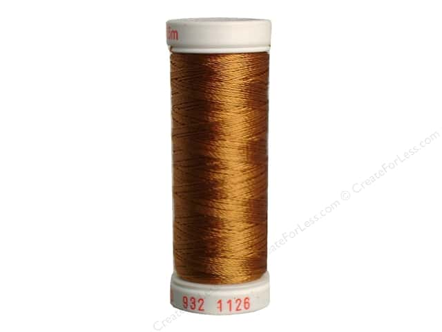 Sulky Rayon Thread 30 wt. 180 yd. #1126 Tan
