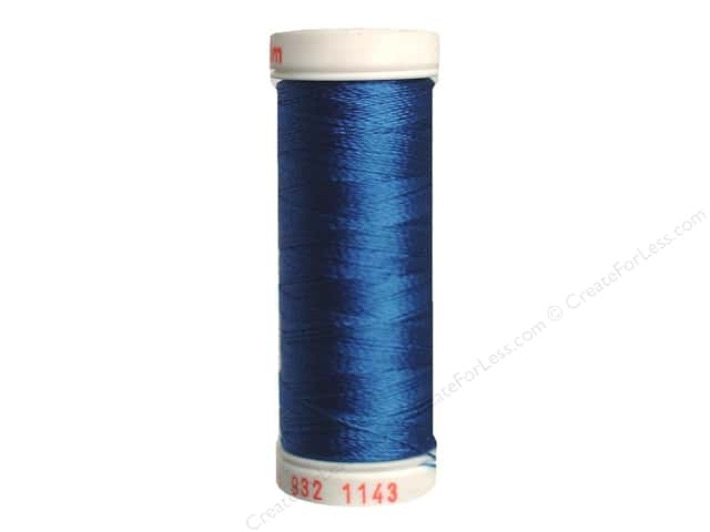 Sulky Rayon Thread 30 wt. 180 yd. #1143 True Blue