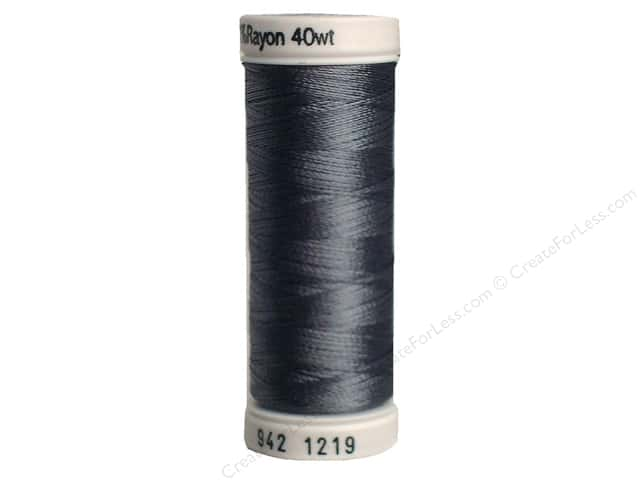 Sulky Rayon Thread 40 wt. 250 yd. #1219 Grey