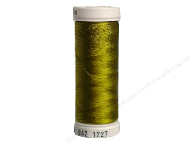 Sulky Rayon Thread 40 wt. 250 yd. #1227 Gold Green