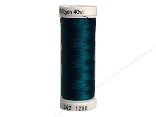 Sulky Rayon Thread 40 wt. 250 yd. #1230 Dark Teal