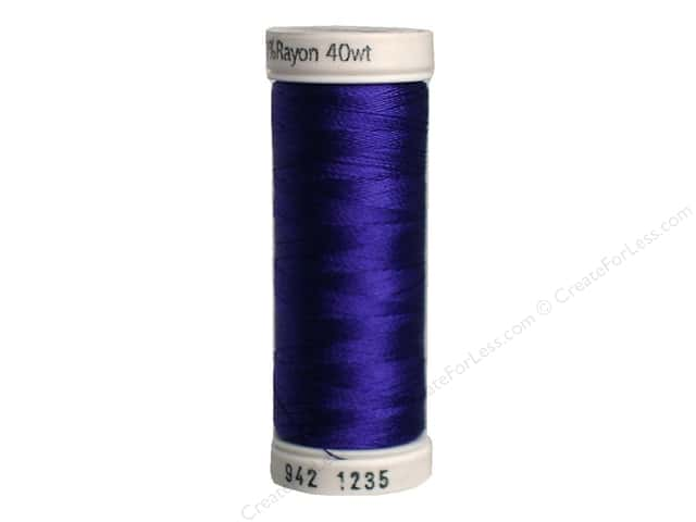 Sulky Rayon Thread 40 wt. 250 yd. #1235 Deep Purple
