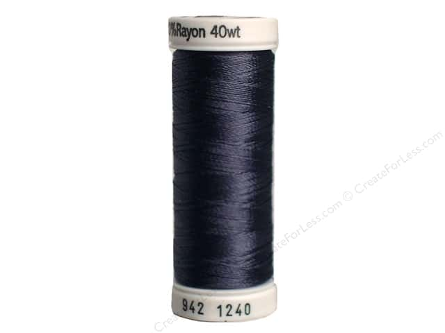 Sulky Rayon Thread 40 wt. 250 yd. #1240 Smokey Grey
