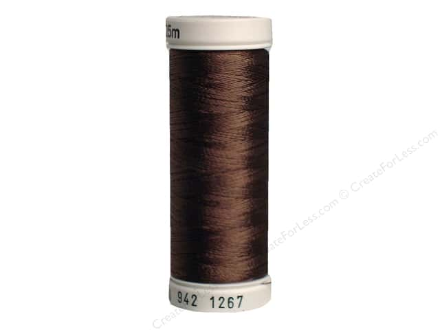 Sulky Rayon Thread 40 wt. 250 yd. #1267 Mink Brown