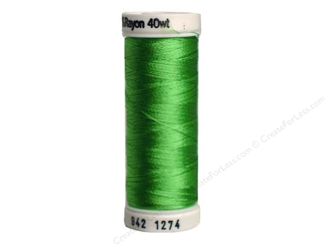 Sulky Rayon Thread 40 wt. 250 yd. #1274 Nile Green