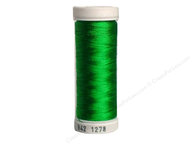 Sulky Rayon Thread 40 wt. 250 yd. #1278 Bright Green
