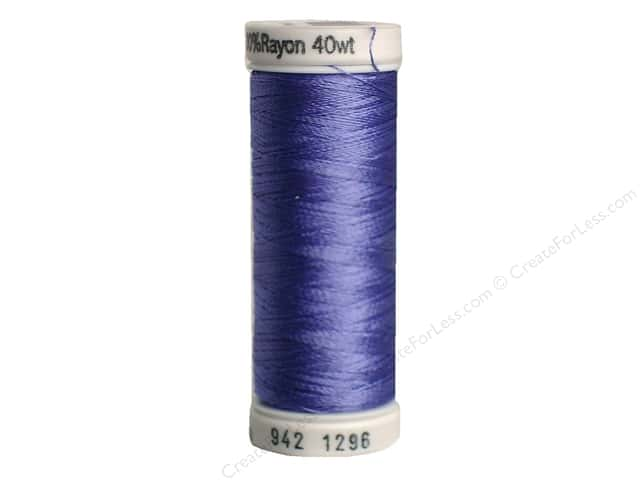 Sulky Rayon Thread 40 wt. 250 yd. #1296 Hyacinth