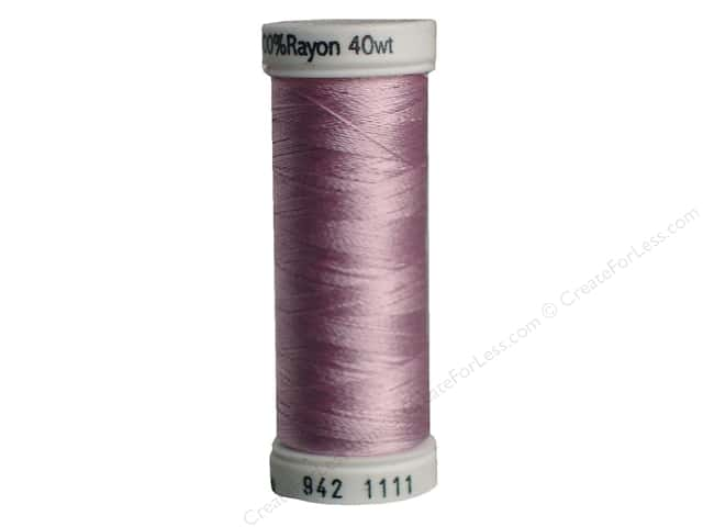 Sulky Rayon Thread 40 wt. 250 yd. #1111 Pastel Orchid