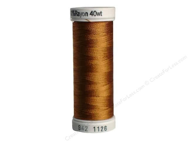 Sulky Rayon Thread 40 wt. 250 yd. #1126 Tan