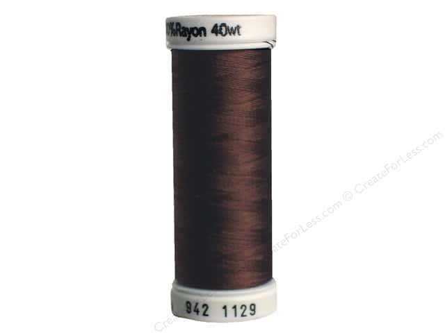 Sulky Rayon Thread 40 wt. 250 yd. #1129 Brown