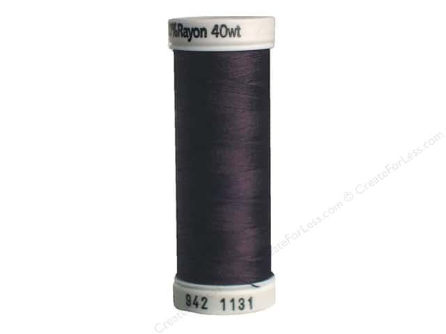 Sulky Rayon Thread 40 wt. 250 yd. #1131 Cloister Brown