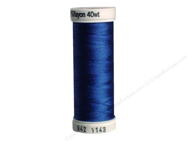 Sulky Rayon Thread 40 wt. 250 yd. #1143 True Blue
