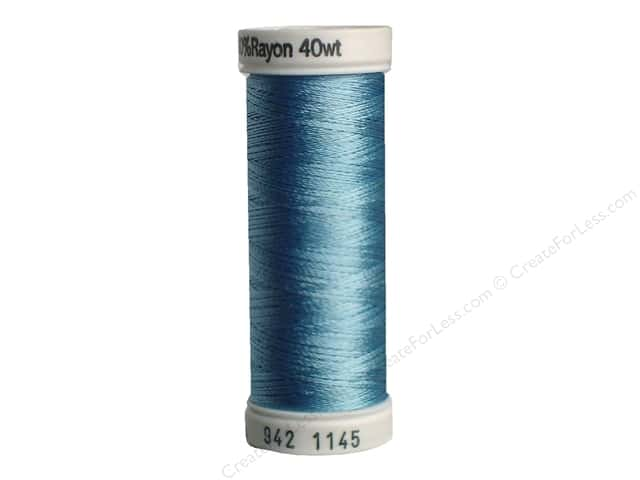 Sulky Rayon Thread 40 wt. 250 yd. #1145 Powder Blue