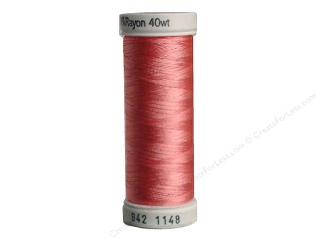 Sulky Rayon Thread 40 wt. 250 yd. #1148 Light Coral