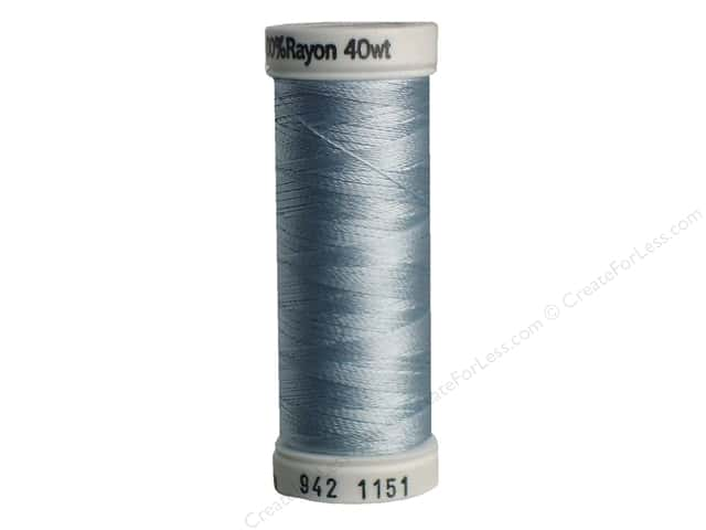 Sulky Rayon Thread 40 wt. 250 yd. #1151 Powder Blue Tint