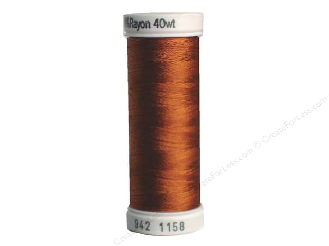Sulky Rayon Thread 40 wt. 250 yd. #1158 Dark Maple