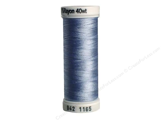 Sulky Rayon Thread 40 wt. 250 yd. #1165 Light Sky Blue