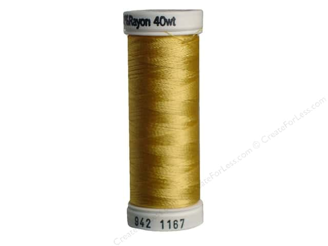 Sulky Rayon Thread 40 wt. 250 yd. #1167 Maize Yellow