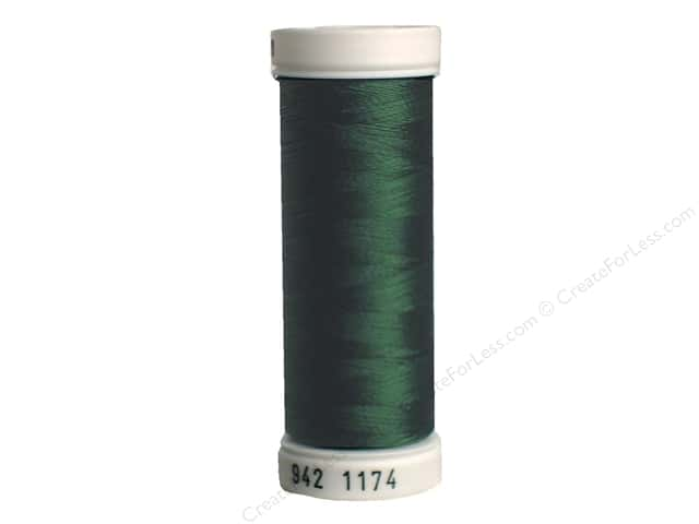 Sulky Rayon Thread 40 wt. 250 yd. #1174 Dark Pine Green