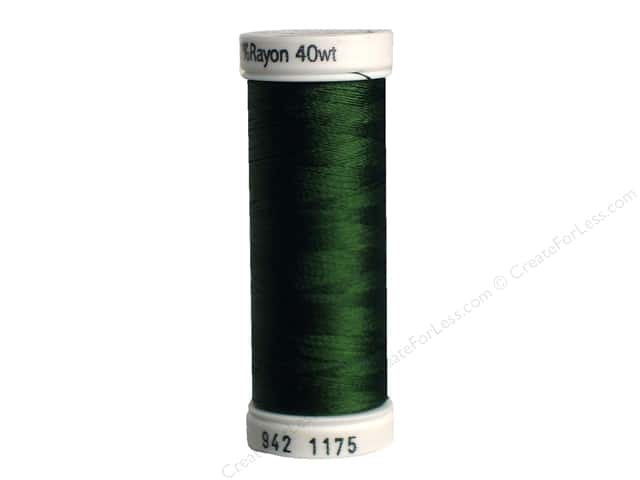 Sulky Rayon Thread 40 wt. 250 yd. #1175 Dark Avocado
