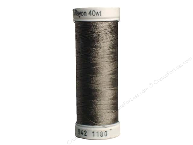 Sulky Rayon Thread 40 wt. 250 yd. #1180 Medium Taupe