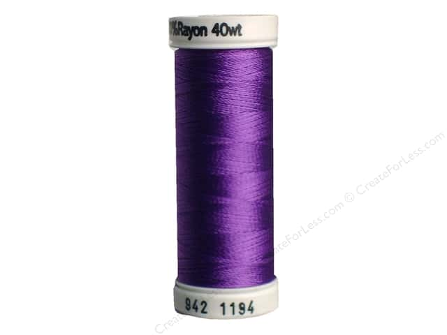 Sulky Rayon Thread 40 wt. 250 yd. #1194 Light Purple