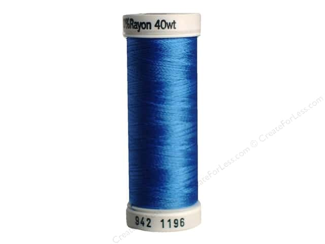 Sulky Rayon Thread 40 wt. 250 yd. #1196 Blue
