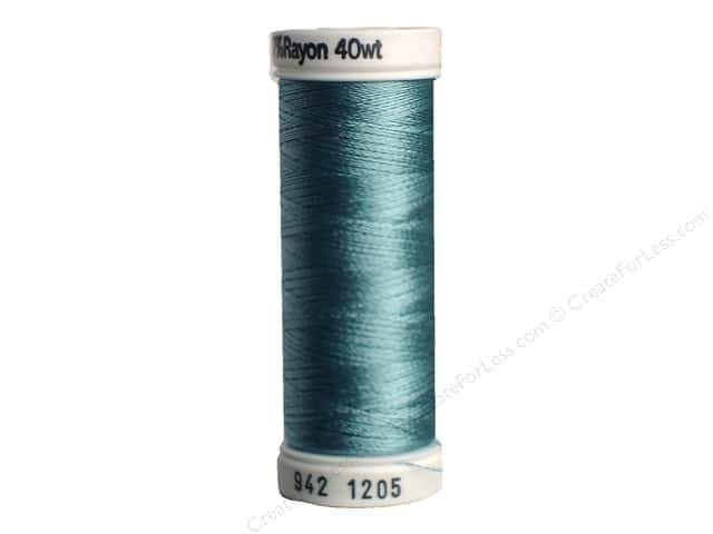 Sulky Rayon Thread 40 wt. 250 yd. #1205 Medium Jade