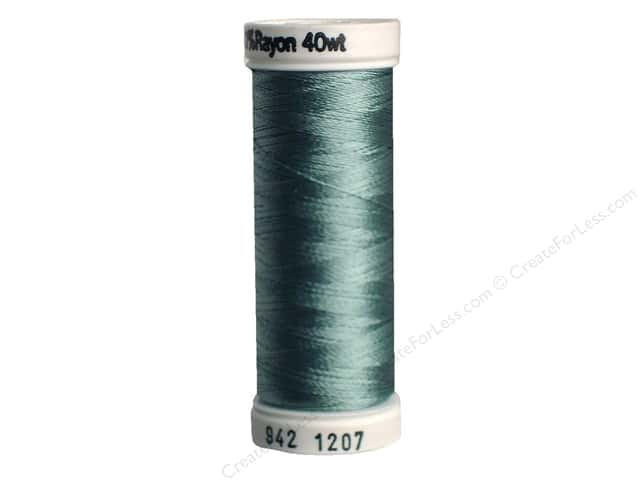 Sulky Rayon Thread 40 wt. 250 yd. #1207 Sea Foam Green