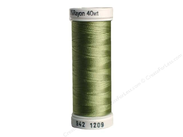 Sulky Rayon Thread 40 wt. 250 yd. #1209 Light Avocado