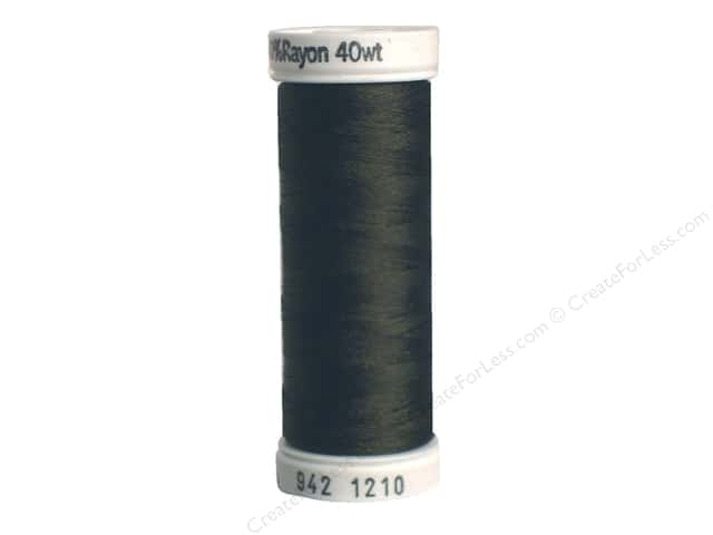 Sulky Rayon Thread 40 wt. 250 yd. #1210 Dark Army Green