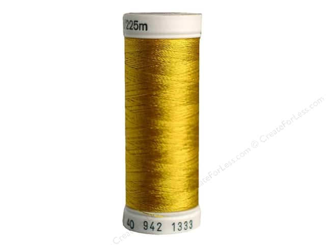 Sulky Rayon Thread 40 wt. 250 yd. #1333 Sunflower Gold