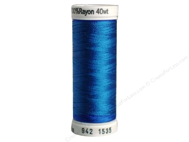 Sulky Rayon Thread 40 wt. 250 yd. #1535 Team Blue