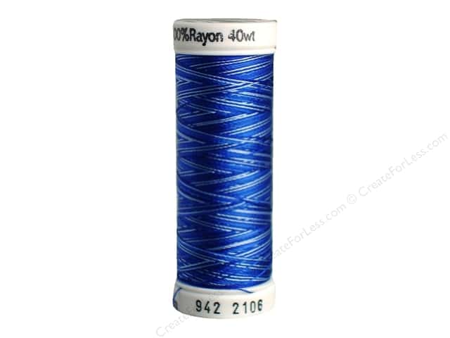 Sulky Rayon Thread 40 wt. 250 yd. #2106 Blues