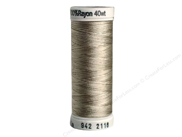 Sulky Rayon Thread 40 wt. 250 yd. #2116 Taupes