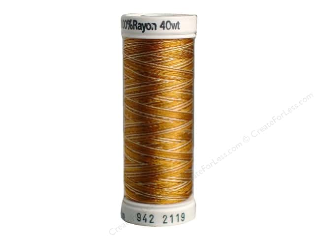 Sulky Rayon Thread 40 wt. 250 yd. #2119 Light Browns